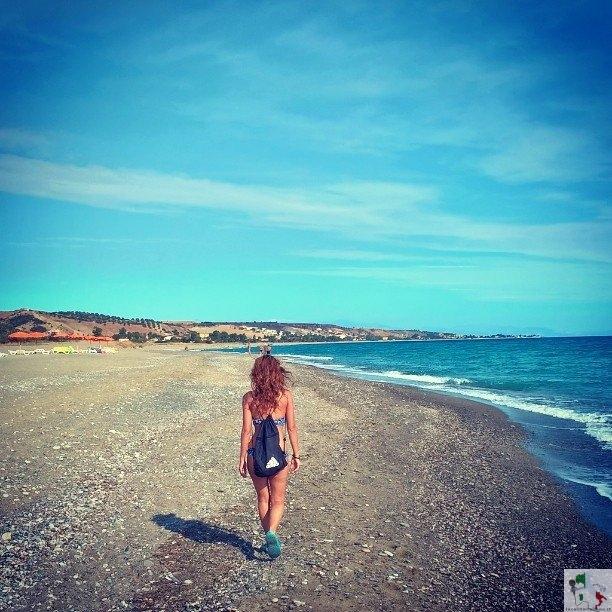 passeggiata mandatoriccio spiaggia