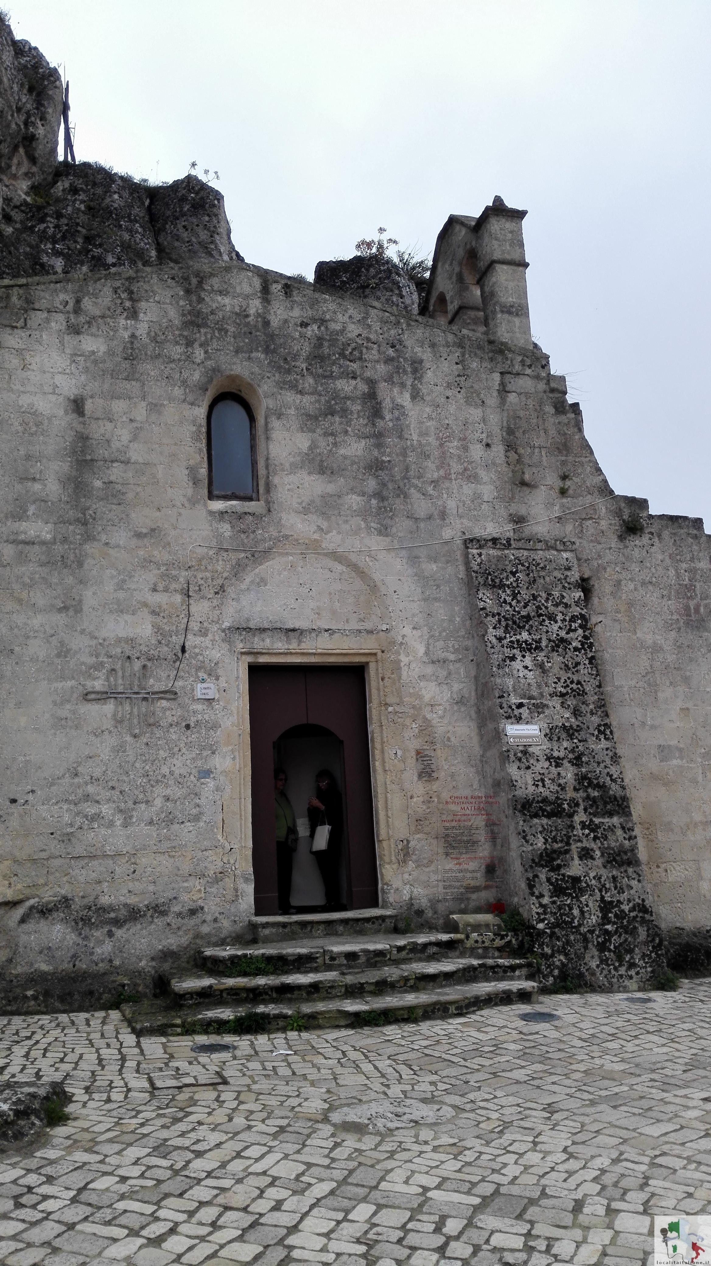 chiesa sassi di matera