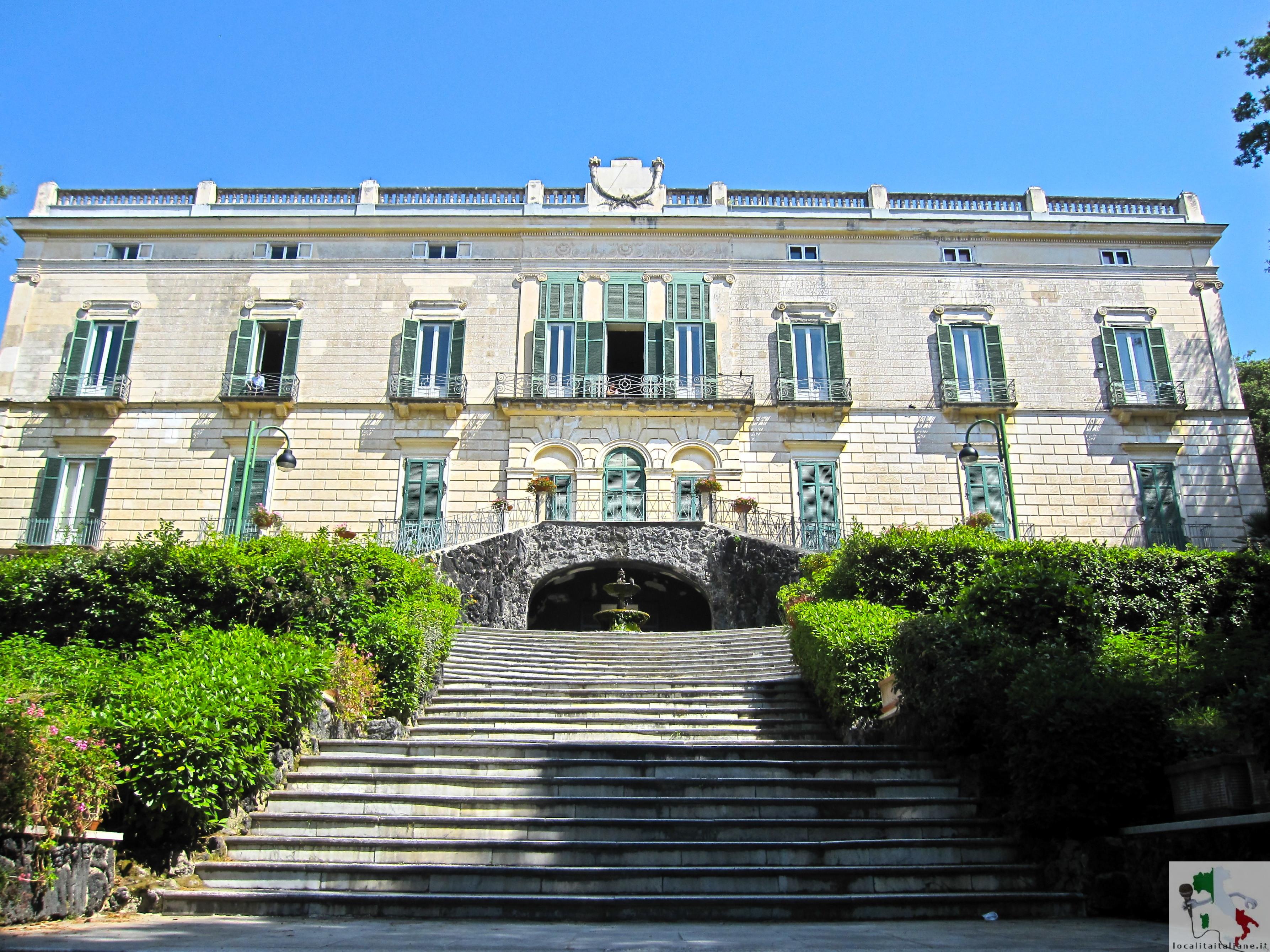 ingresso villa floridana