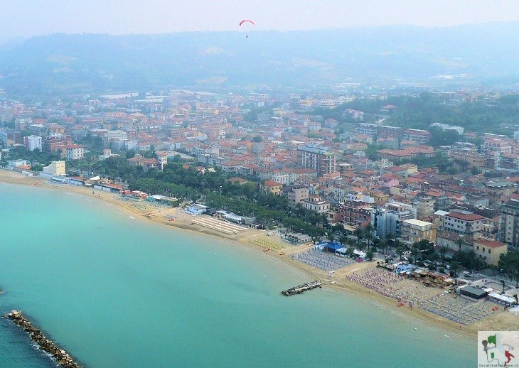 panoramica spiaggia Grottammare