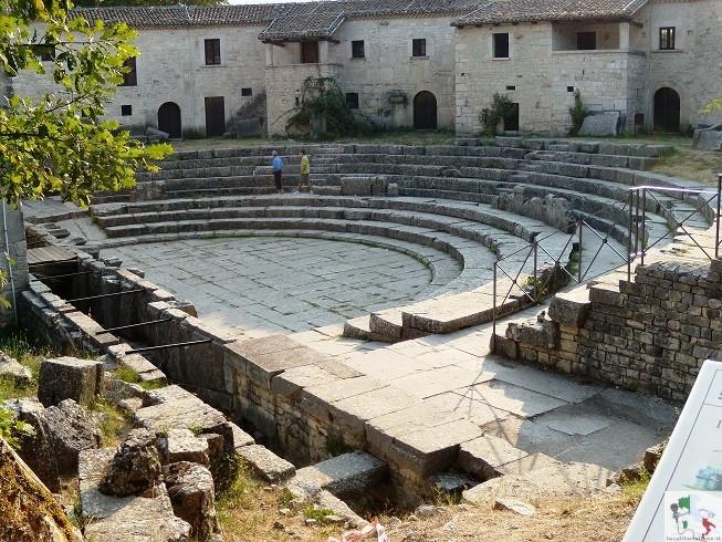 anfiteatro di Sepino