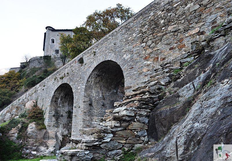 antico accesso al forte