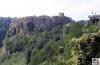 Calcata, la città scavata nella roccia