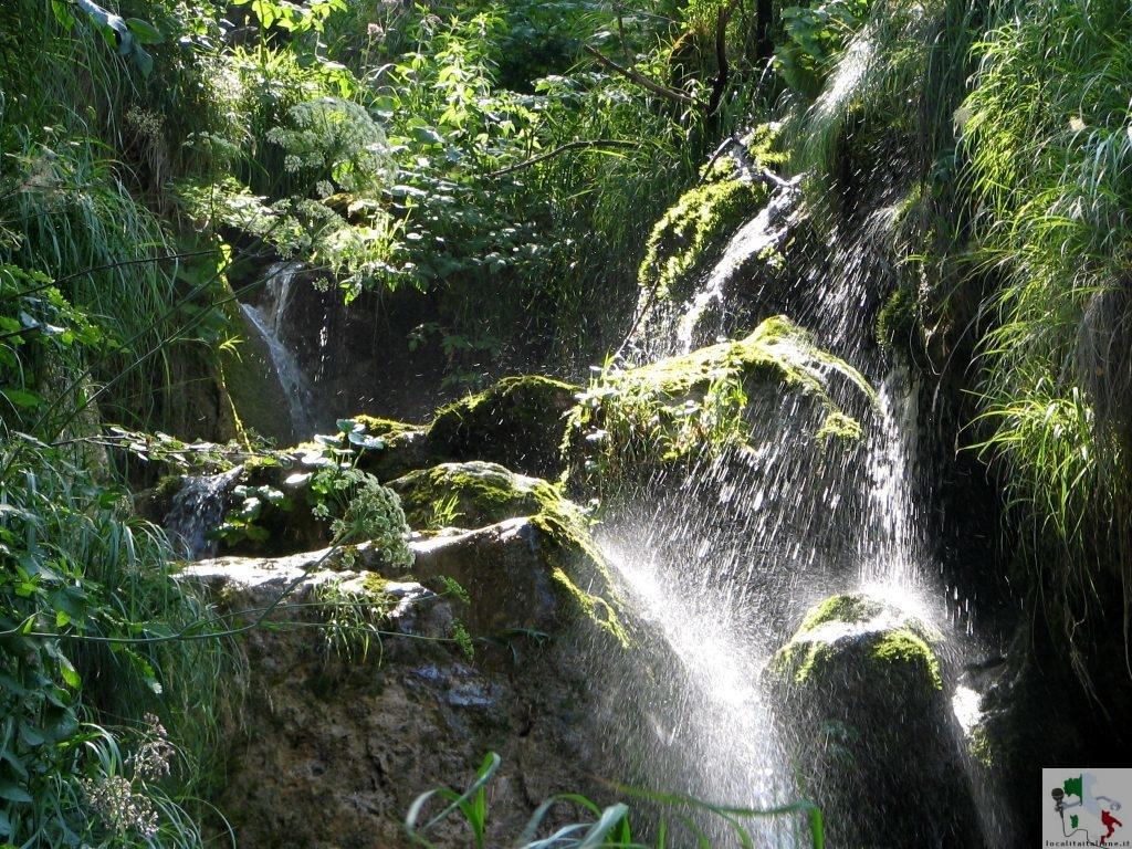 cascata della riserva