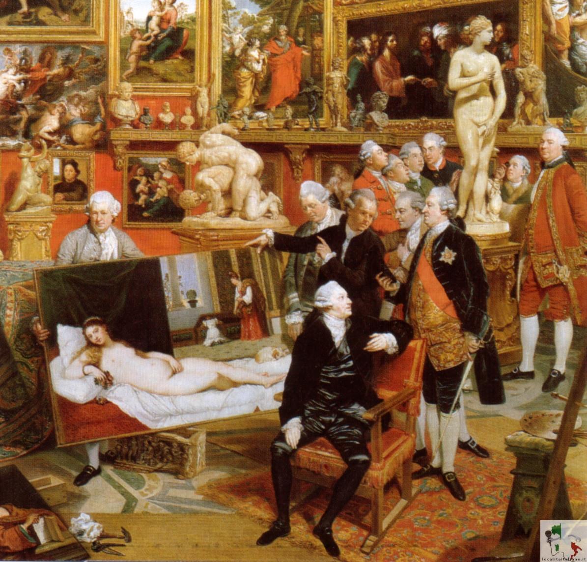 dipinto settecentesco