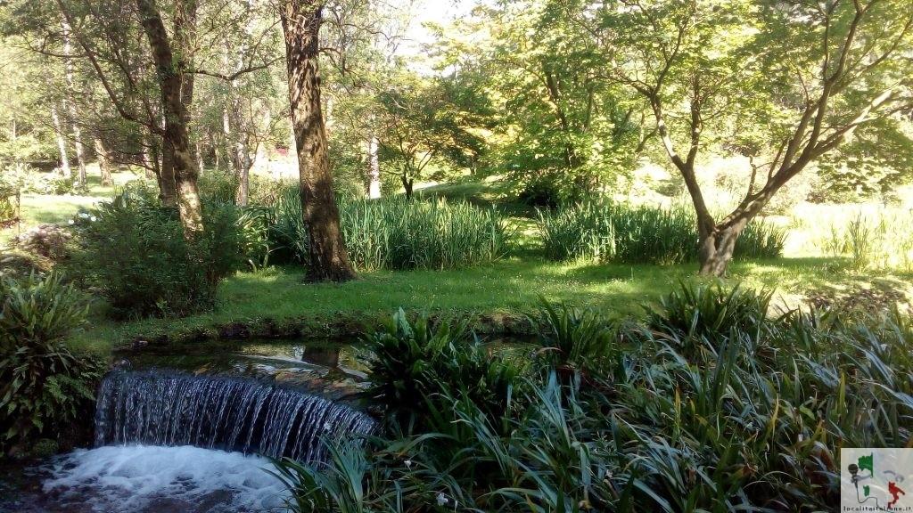 giardini di ninfa cascata