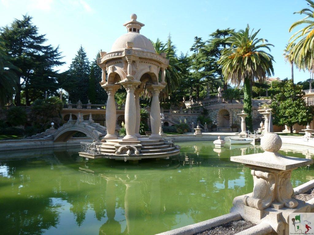 giardino della villa
