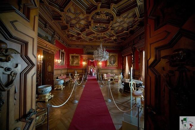 interni del castello
