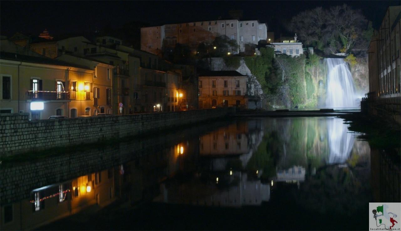 il centro di sera