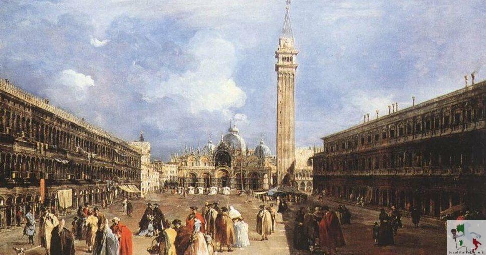 la storica piazza san Marco