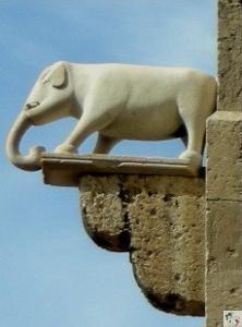 l'elefante dfella torre