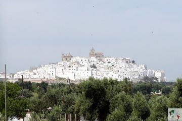 Centro storico di Ostuni, la città bianca