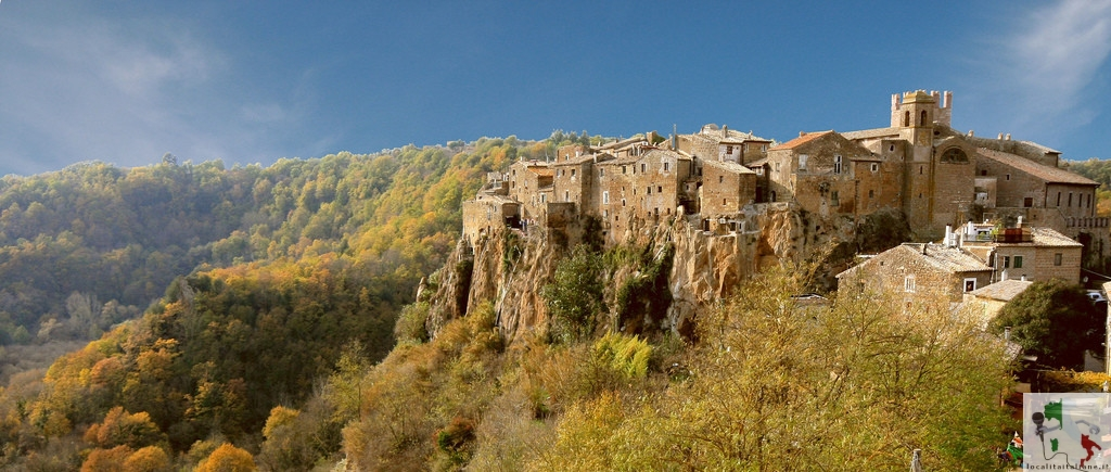 panoramica di calcata