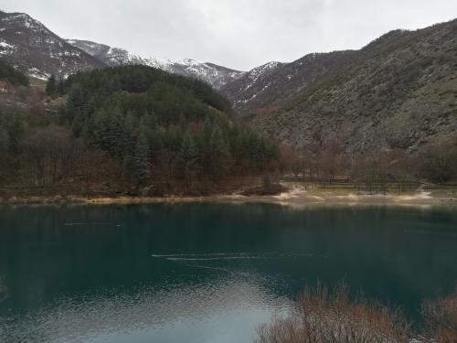 gole dal sagittario vista lago