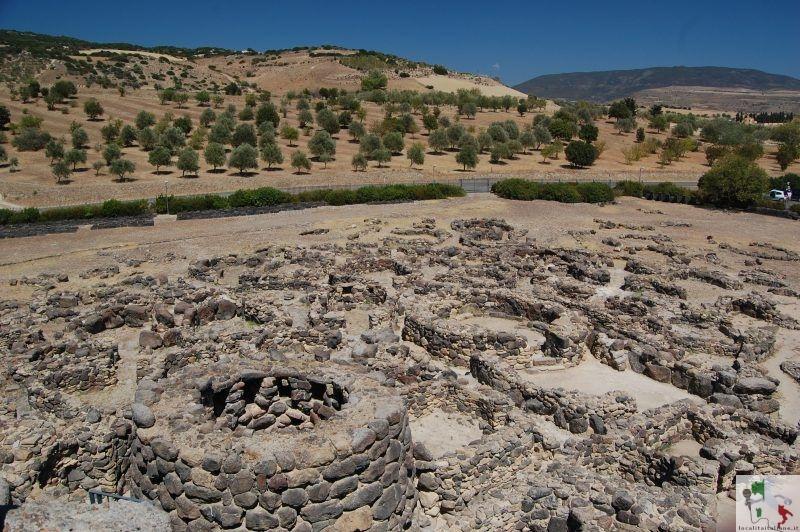 resti del villaggio