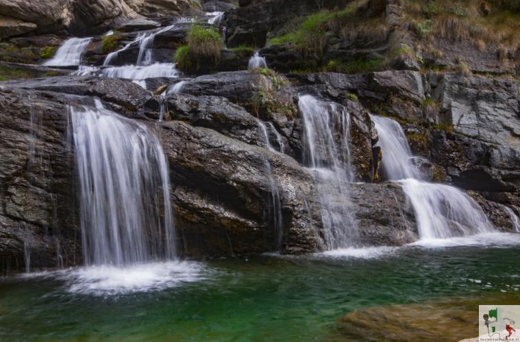 Le cascate di Lilliaz